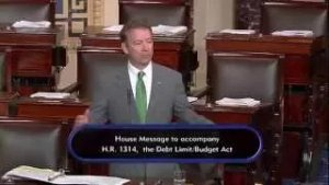 Sen. Paul Speaks Against Budget Deal After Senate Votes to End His Filibuster - October 30, 2015