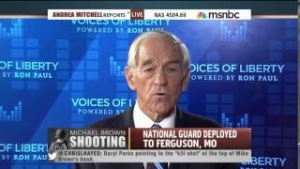 Ron Paul: Police Are Supposed To Be Peace Officers, Not Warriors!