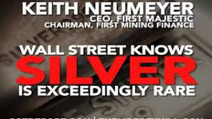 Keith Neumeyer: Silver Is Rare