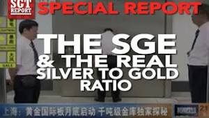 SGTReport: Silver to Gold Ratio