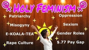Feminism: A repetitive broken  ideological record...