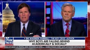 Warren Farrell on Tucker Carlson Tonight: The Politics of Fatherlessness